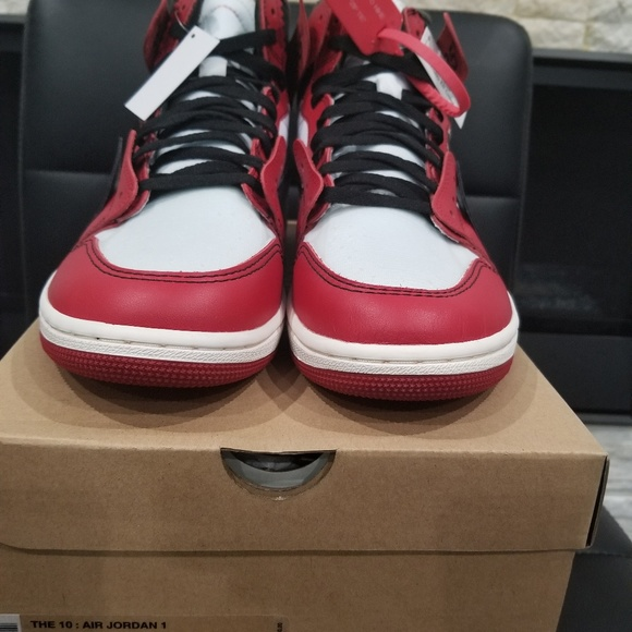 the latest a880c a04cc Nike Air Jordan 1 x Off White Size 12